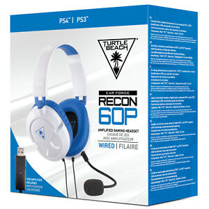 Turtle-Beach-Ear-Force-Recon-60P-Blanco-Auriculares-Para-Juegos-Para-PS4-XBOX-One-PC-Mac