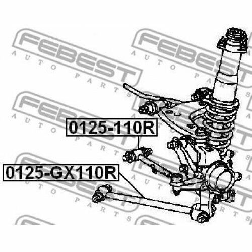 FEBEST Track Control Arm 0125-110R