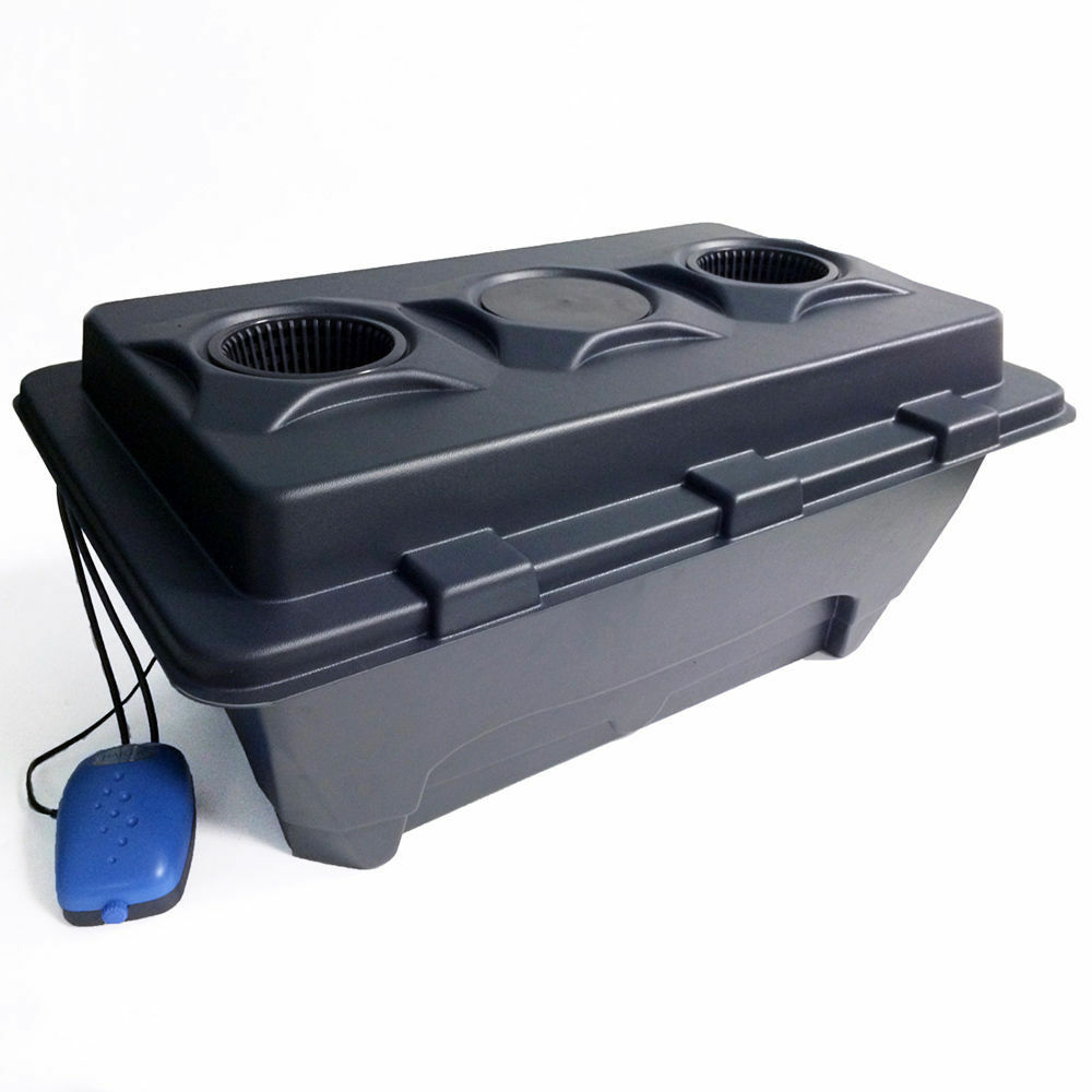 IWS profunda cultura del agua Dwc Oxy pot Xl grifo sistemas hidropónicos Kit Completo