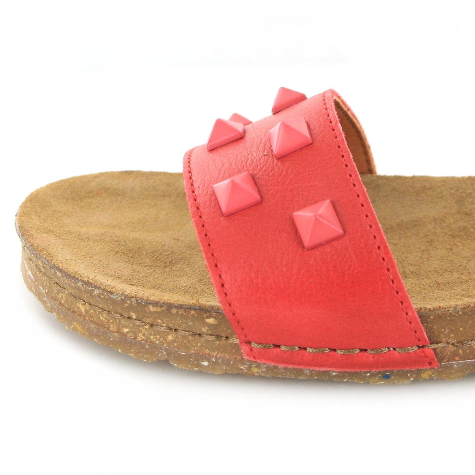 afdd3703 ... Tipo 1251a Creta Carmin cuero sandalia para señora rojo zapatos de  verano ...