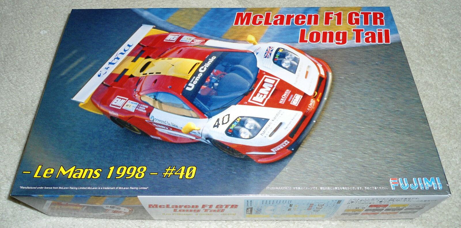 Fujimi 1 24 McLaren F1 GTR Longtail LeMans 1998 ()