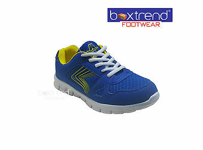 Kenntnisreich New Boys Casual Shoes Running Trainers School Sports Wear Boot Sizes 13 - 6