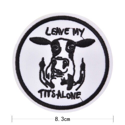 New iron-on patch embroidery appliques badges for decorate clothing bag DIY  lb