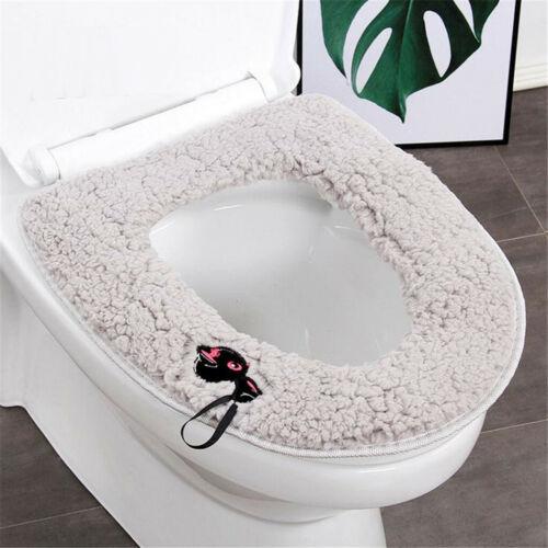 Plush Thick Universal Toilet Seat Winter Household Waterproof Toilet Seat Rin
