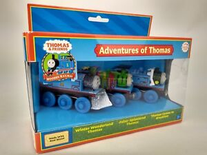 Details About Thomas Friends Tank Engine Wooden Railway Adventures Of Thomas Rare New In Box