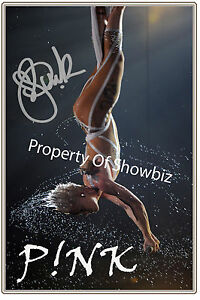 PINK-ALECIA-MOORE-LARGE-SIGNED-POSTER-SIZE-PHOTO