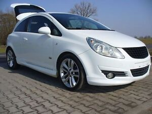 vauxhall opel corsa d - 3 door before facelifting - body kit - opc