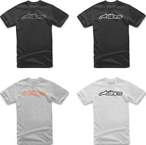 Alpinestars And Short Sleeve T-Shirt in Black
