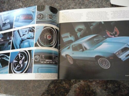 Pontiac 1978 deluxe and saver full line brochure-from just open case-N.O.S !