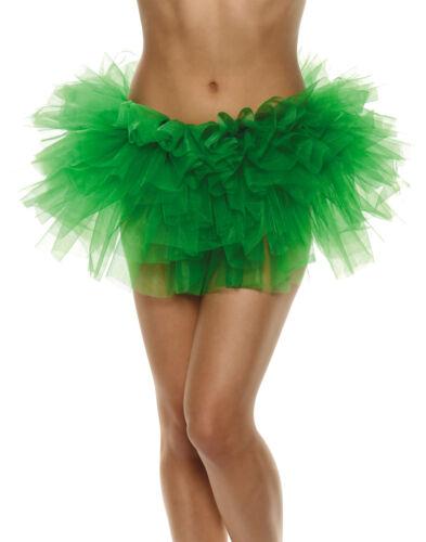 Green Tutu Adult Womens Dancewear Accessories One Size