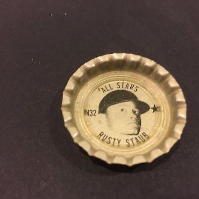 1967-68 TIM MALONEY CINCINNATI REDS COCA COLA RARE FRESCA BOTTLE CAP NM