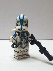 LEGO STAR WARS MINIFIGURES-Clone Troopers personalizzato-Comandante Stone