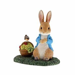 Beatrix-Potter-Peter-Rabbit-with-Basket-Collectors-Figurine-Boxed-Ornament