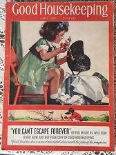 Good Housekeeping April 1938 3 Little Pigs Big Bad Wolf Walt Disney VGC