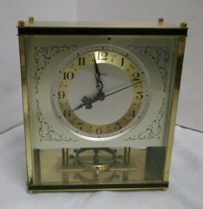 Sonstige Gefertigt Nach 1950 Einfach 50er 60er Jahre Zentra Kaminuhr Pendeluhruhr Mechanisch Messing Clock 50s RegelmäßIges TeegeträNk Verbessert Ihre Gesundheit