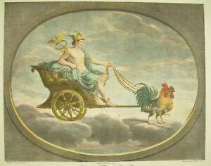 Mythology-The-Dieu-Mercury-God-Fired-Per-Of-Roosters-Raffaele-Sanzio-D-Urb