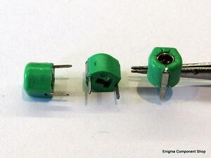 UK Seller. TZ03R300BR169 MuRata BOTTOM ADJUST 6mm Trimmer Capacitor 5-30pF