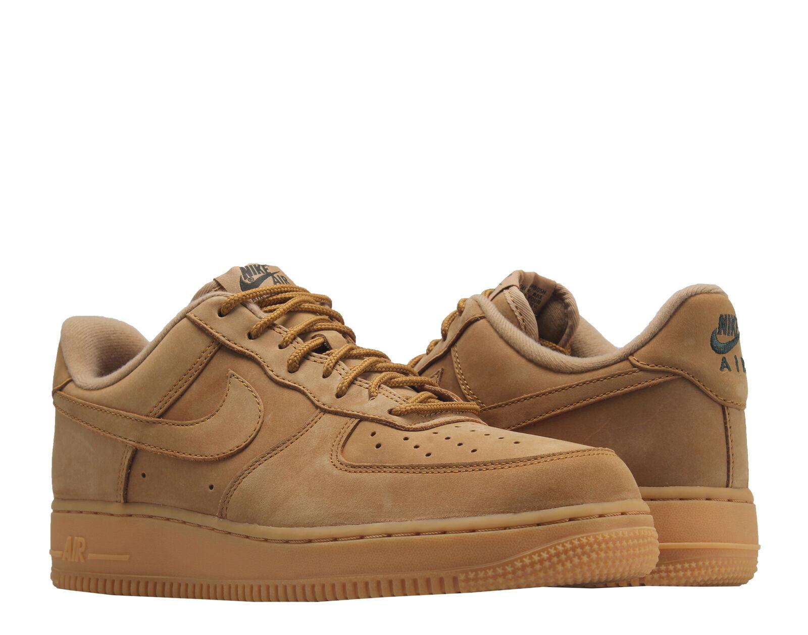 Nike air force 1 '07 wb lino / lino gomma grano uomini scarpe da basket aa4061-200