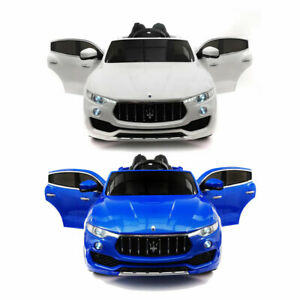 MASERATI LEVANTE 12V KIDS RIDE-ON CAR WITH RC PARENTAL REMOTE