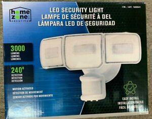 Home Zone Security Led Security Light Motion Activated 3000 Lumens M83a 889526351427 Ebay