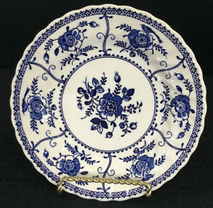 Johnson-Brothers-Indies-Blue-Single-Bread-or-Dessert-Plate-6-25-Made-In-England