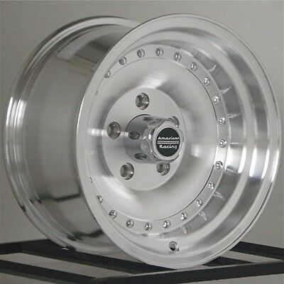 "15 Inch Wheels Rims 15x8"" American Racing Outlaw I AR625883 6x5.5 6 Lug Set of 4"