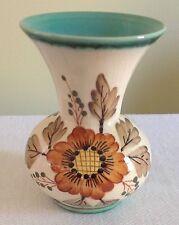 N & CO Floral Gouda Flared Rim Numbered 451 RODA Vase Holland Vintage