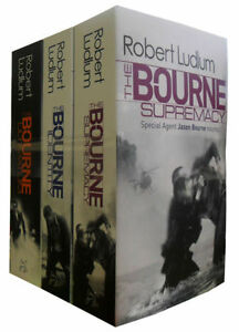 Robert-Ludlum-The-Bourne-Trilogy-3-Books-Mystery-Collection-Paperback-English