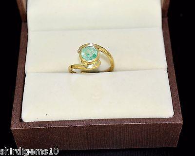 2.70 Ct Nice Certified Natural Emerald Gemstone Astrological Women Ring Ebay