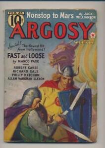 Argosy-Weekly-February-25-1939-Vintage-Pulp-Magazine-Very-Good-Plus