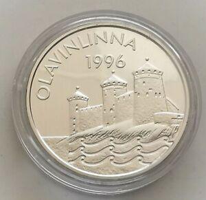 362.  FINLANDE / Finland - 20 euro - 1996 - OLAVINLINNA - SILVER / ARGENT