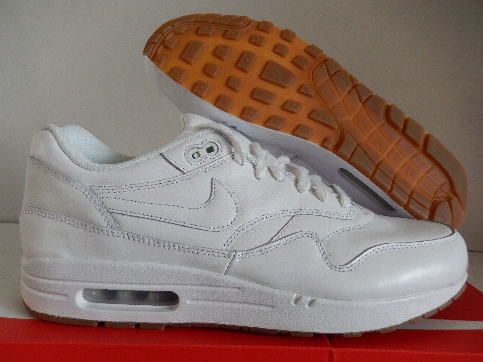 online retailer 3dc29 ab07a ... new zealand nike air max 1 id white gum brown 11.5 sz 11.5 brown 628312  991