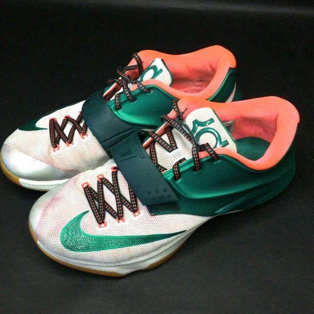 Nike KD 7 VII Easy Money Mystic Green Gum Kevin Durant 653996-330 Sz 10.5