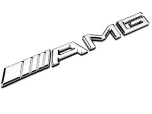 AMG-embleme-logo-dans-Chrome-Convient-Pour-Mercedes-B-C-CLA-CLS-G-GLA-E-SLK-S-etc