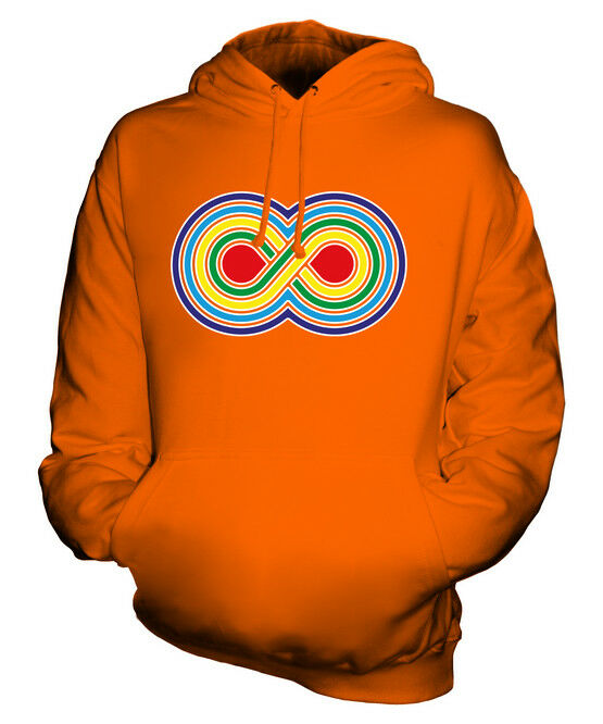 VIBRANT VIBRANT VIBRANT INFINITY SYMBOL UNISEX HOODIE TOP GIFT LOGO TRADITIONAL  | Quality First