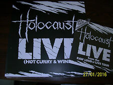 "Holocaust - Live Hot Curry And Wine ( LP+7"") NWOBHM. Metallica .The Small Hours."