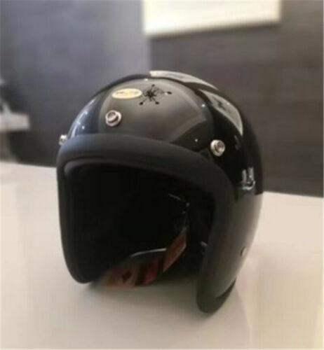 TT/&CO Vintage Helmet 500TX Motorcycle Motorbike Jet Scooter 3//4 Helmets