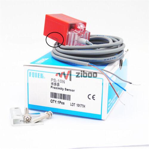 Fotek PS-10N 10 mm négatif Positif Négatif Nº DC10-30V Détecteur de proximité inductif CAPTEUR