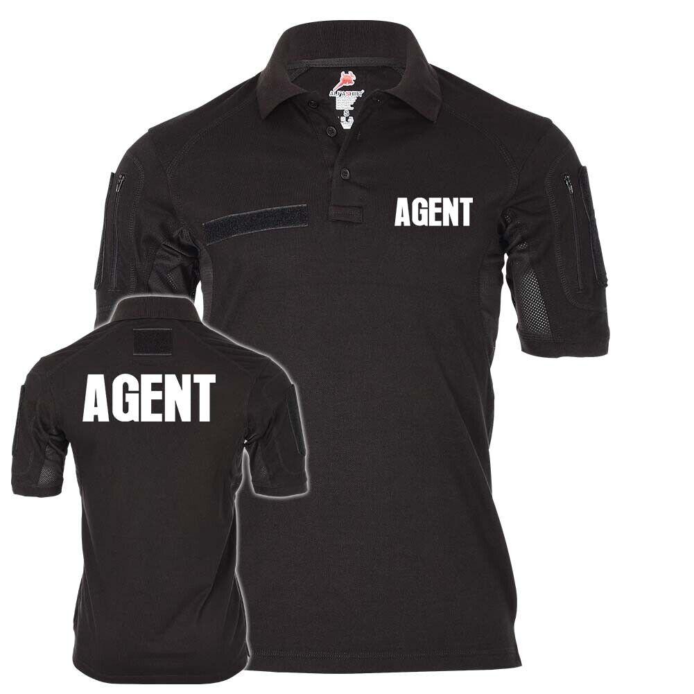 Tactical Poloshirt Polo Agent Agentin Shirt Beruf Berufung Job Security  25437  | Perfekt In Verarbeitung