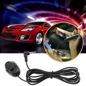 3-5mm-Microphone-For-Car-Stereo-Audio-GPS-DVD-Bluetooth-Enabled-External-Mic-New