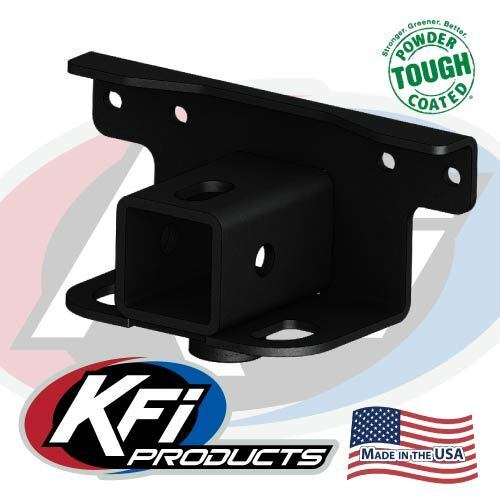 "KFI Rear 2/"" Tow Hitch Receiver For Yamaha Grizzly Kodiak 700 101280"