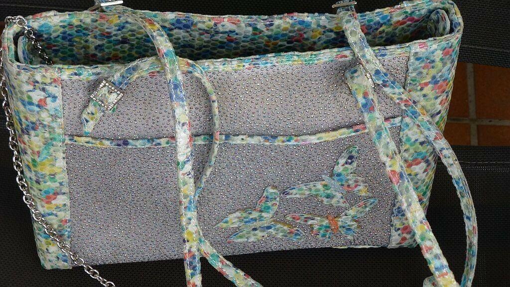 Bunte Pensato Handtasche, selten gebraucht, sehr gut gepflegt, neuwertig