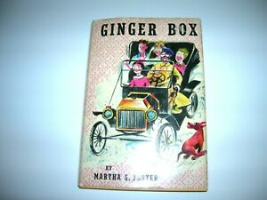 Ginger-Box-By-Martha-Foster-1959-Illus-by-Charles-Geer-1959-First-Ed-HC-DJ-WOW