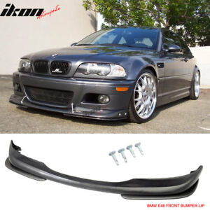 Details About Fits 01 06 Bmw E46 M3 Ac S Urethane Front Bumper Lip Spoiler Body Kit Pu