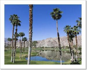 Pga West Golf Course Palm Springs Art Print Home Decor Wall Art Poster C Ebay