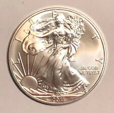 2012 1 oz Silver American Eagle BU in BCW flip  G-5-19