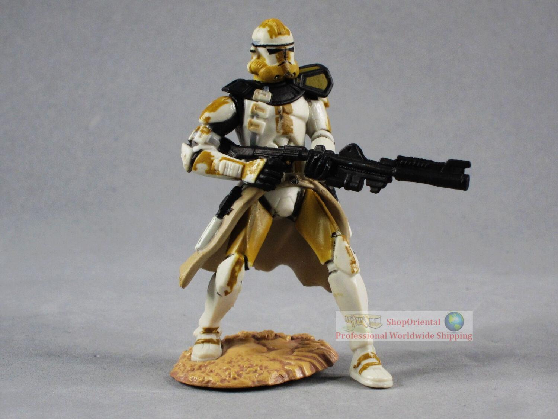 Hasbro Star Wars 1:32 Toy Soldier Action Figure CLONE TROOPER COMMANDER CODY S66