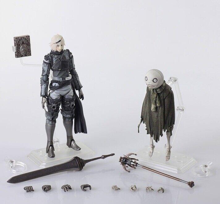 Original 6  Bring Arts Nier RepliCant NieR & Emil Action Figure (no box)