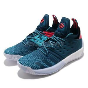 release date ac60e a01e1 Image is loading adidas-Harden-Vol-2-James-Step-Back-Blue-