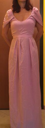Antico Etichette Con Paris Vionnet 40 Taglia Rosa Originale Vestito Da Sera zAnWvnCPq